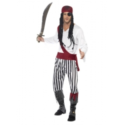 Pirate homme ligné