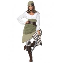 Pirate femme blanche
