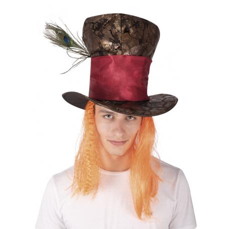 Chapeau simili cuir chapelier