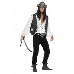 Pirate gilet noir ensemble