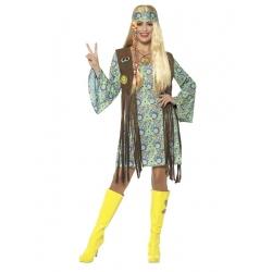 Hippie femme colorée franche