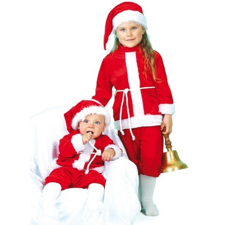 Costume de bébé Père Noël