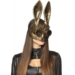 Masque lapin steampunk