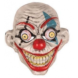 Masque clown grand yeux
