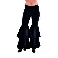 Pantalon pattes noir femme