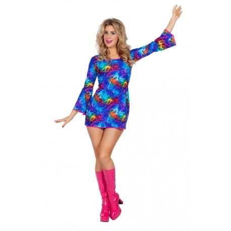 Robe femme disco