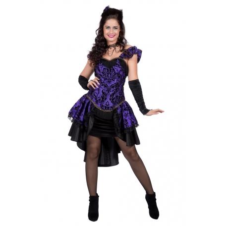Robe burlesque steampunk