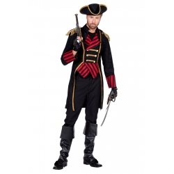 Pirate veste rouge