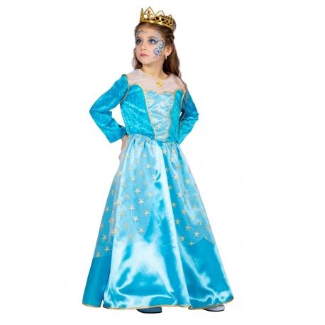 Déguisement princesse bleu