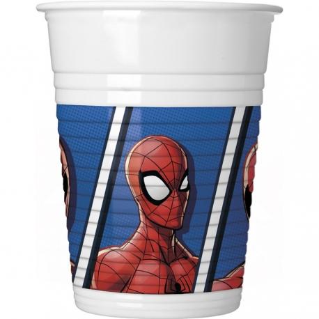 Gobelets spiderman