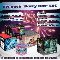 Kit artifices party bat