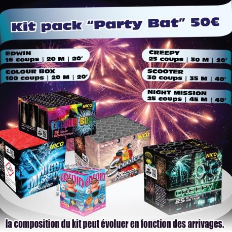 Kit artifices party bat