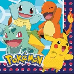 Serviettes pokemon