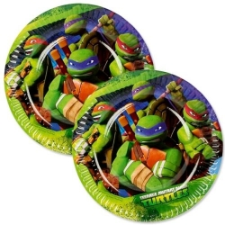 Assiettes tortue ninja