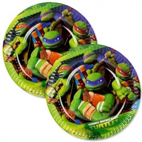 Assiettes tortue ninja