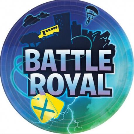 Assiettes battle royal