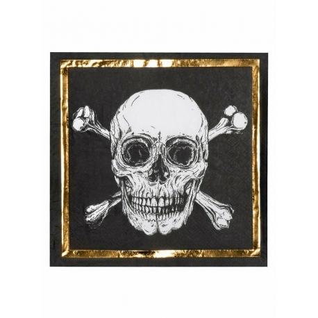 Serviettes pirate