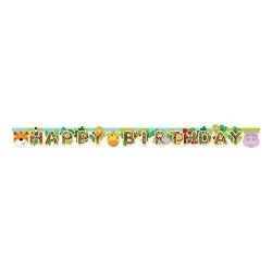 Guirlande joyeux anniversaire jungle