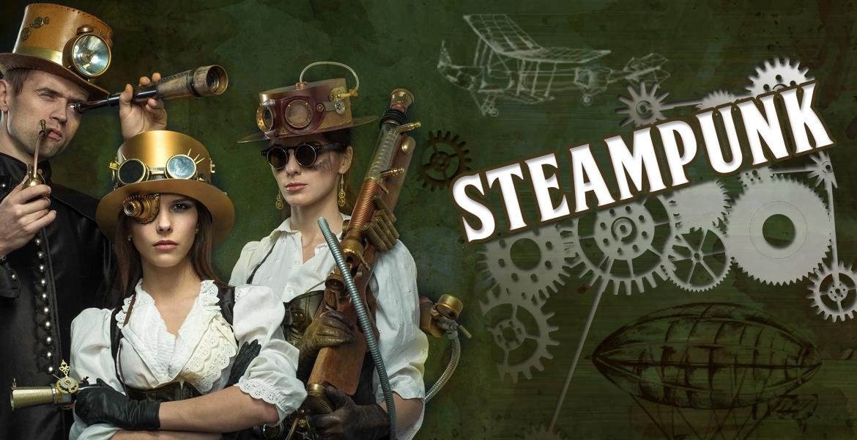Retrouver tous vos déguisements Steampunk et entrez dans l'atmosphère de la société industrielle du xixe siècle,  fantastique  et science-fiction