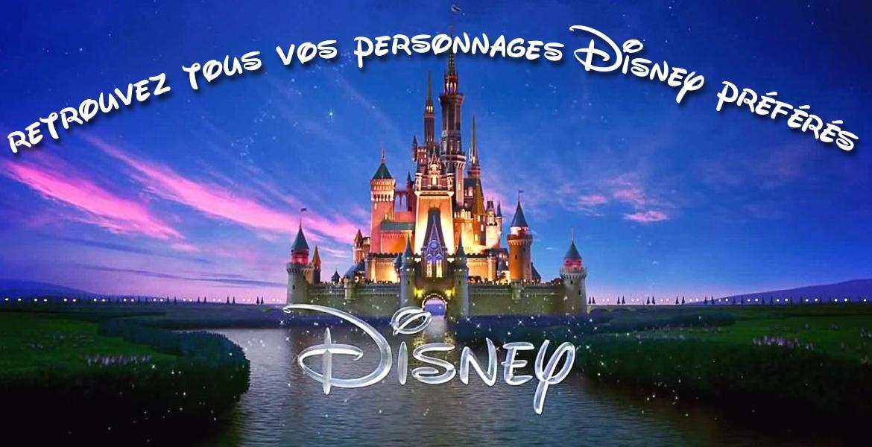 Retrouver tous vos déguisements des personnages Disney préférés