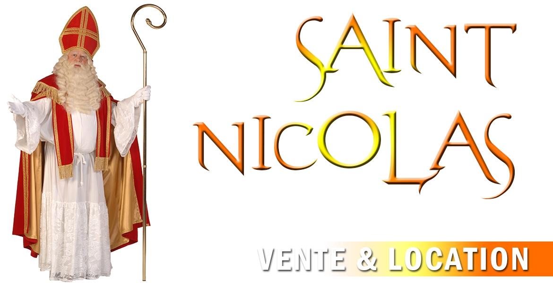 St-nicolas et père fouettard de luxe
