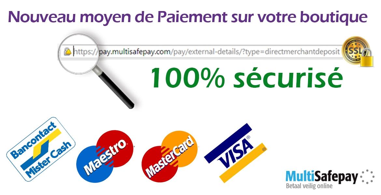 New moyen de paiement en ligne