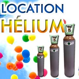 Location de bouteils d'hélium